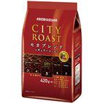 (まとめ)ユーコーヒーウエシマ シティーロースト  モカブレンド  1袋(420g)【×10セット】