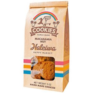 (まとめ)ハレイワ マカダミアナッツクッキー 1袋(85g)【×10セット】 - 拡大画像