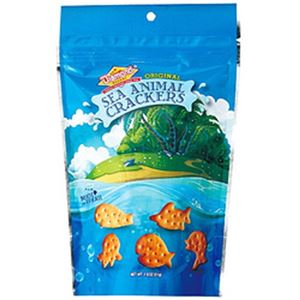 (まとめ)ダイアモンドベーカリー シーアニマルクラッカー オリジナル 小 1袋(51g)【×10セット】 - 拡大画像