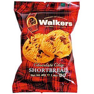 (まとめ)ウォーカー ショートブレッド チョコチップ 1箱(2個×12袋)【×3セット】 - 拡大画像