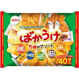 (まとめ)栗山米菓 ばかうけアソート【×10セット】 - 拡大画像