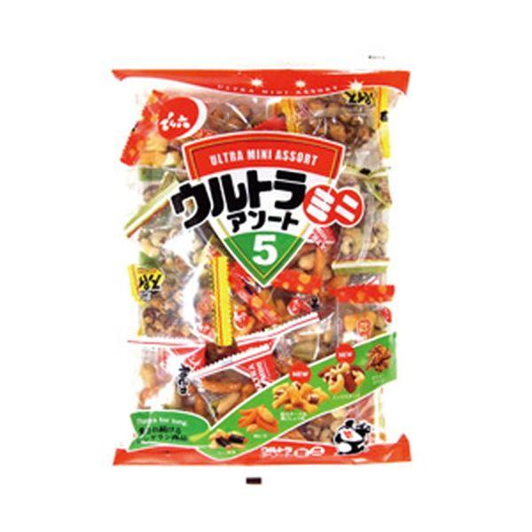 (まとめ)でん六 ウルトラミニアソート 1袋(200g)【×10セット】