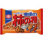 (まとめ)亀田製菓 亀田の柿の種    1袋(6パック・200g)【×10セット】