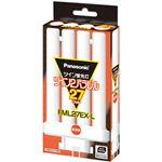 (まとめ)パナソニック 蛍光灯 ツイン2パラレル 27W 電球色 FML27EX-L 1本【×3セット】