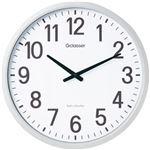 キングジム 電波掛時計ザラージ    1台 型番:GDK-001