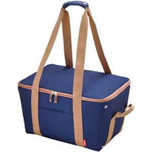 (まとめ)サーモス 保冷買い物カゴ用バッグ ブルー REJ-025BL 1個【×2セット】