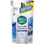 (まとめ)花王 リセッシュ除菌EX 詰替 320ml 香りが残らない 1パック【×10セット】