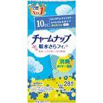 (まとめ)ユニ・チャーム チャームナップ吸水サラフィー ロングライナー 無香 1袋(28枚)【×10セット】