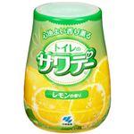 (まとめ)小林製薬 トイレのサワデー レモンの香り 本体1個【×10セット】