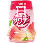 (まとめ)小林製薬 トイレのサワデー ピーチの香り つめ替用1個【×10セット】