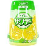 (まとめ)小林製薬 トイレのサワデー レモンの香り つめ替用1個【×10セット】