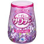 (まとめ)小林製薬 トイレのサワデー ラベンダーの香り 本体1個【×10セット】