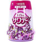 (まとめ)小林製薬 トイレのサワデー ラベンダーの香り つめ替用1個【×10セット】