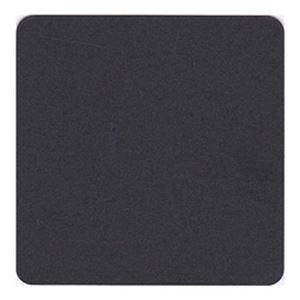 (まとめ)エコマット 角丸 黒 250枚入【×3セット】