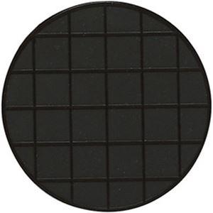 (まとめ)スペースコースター 黒 6枚入【×3セット】