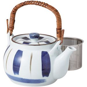 (まとめ)西海陶器 十草SS軽量6号 土瓶 1100ml 1個【×2セット】