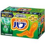 (まとめ)花王 薬用入浴剤 バブ 森の香り 1箱(20錠)【×5セット】