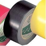 ニチバン カラー布テープ(薄手) ブラック  1箱(30巻)