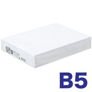 (まとめ)オフィスデポ オリジナル ファインホワイト(高白色コピー用紙) B51冊(500枚)【×10セット】