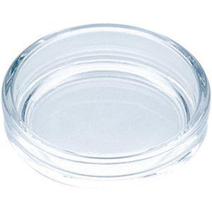 (まとめ)東洋佐々木ガラス 灰皿 透明丸【×10セット】 - 拡大画像