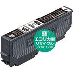(まとめ)エコリカ リサイクルインクカートリッジ (エプソン ICBK80L互換) ブラック 1個【×5セット】