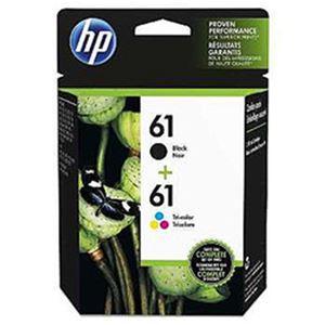 (まとめ)HP 純正インクカートリッジ CR311AA(HP61) カラーパック 単位:1個【×2セット】