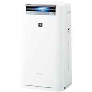 シャープ プラズマクラスター 加湿空気清浄器 ホワイト系 KI-JS70-W 1台 - 拡大画像