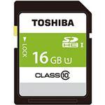 (まとめ)東芝  SDカード  16GB 1個 SDAR40N16G【×3セット】