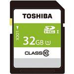 (まとめ)東芝  SDカード  32GB 1個 SDAR40N32G【×2セット】