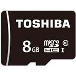 (まとめ)東芝  SDカード  8GB 1個  MSDAR40N08G【×5セット】