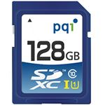PQI SDHCカード 128GB Class10 UHS-I対応 SD10U11-128 1枚