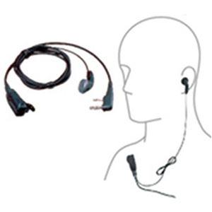ケンウッド イヤホンマイク(インナーイヤー型/耳穴式) - 拡大画像