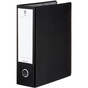 (まとめ)コクヨ チューブファイル【NEOS】 A4タテ 2穴 とじ厚8cm ブラック フーNE680D 1冊【×5セット】