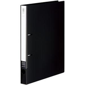 (まとめ)コクヨ リングファイル【NEOS】 A4タテ 2穴 背幅3.3cm ブラック フ-NE430D 1冊【×10セット】