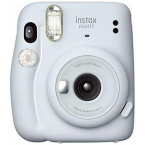 富士フイルム チェキ instax mini 11 白 INS MINI 11 WHITE 1台 - 拡大画像