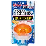 (まとめ)小林製薬 液体ブルーレット除菌EX スーパーオレンジ 本体 1個【×10セット】
