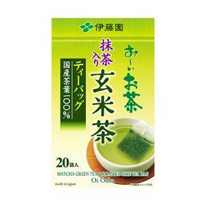 (まとめ) 伊藤園 お〜いお茶 ティーバッグ 玄米茶 【×5セット】 - 拡大画像