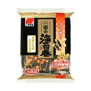 (まとめ) 三幸製菓 三幸の海苔巻 【×10セット】 - 拡大画像