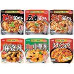 丸美屋セット米飯アソート詰合せ 1セット(6個)