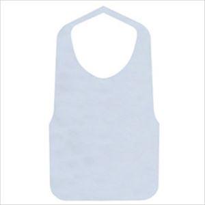 (まとめ)藤本商會本店 ソフティー不織布エプロンF型 白 1パック(30枚)【×10セット】 - 拡大画像