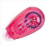 (まとめ)コクヨ ドットライナープチモア ピンク (6mm×10m) タ-D920-06P 1個【×20セット】