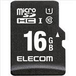 エレコム 車載用 ドラレコ・カーナビ向け microSDHCメモリカード 16GB MF-CAMR016GU11A 1枚