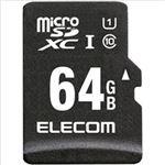 エレコム 車載用 ドラレコ・カーナビ向け microSDHCメモリカード 64GB MF-CAMR064GU11A 1枚