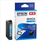 (まとめ)エプソン インクカートリッジ IB10シリーズ シアン 純正 IB10CA 1個【×3セット】