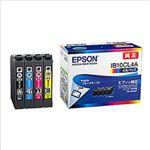エプソン インクカートリッジ IB10シリーズ 4色(ブラック、シアン、マゼンタ、イエロー) 純正 IB10CL4A 1個