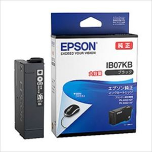エプソン インクカートリッジ IB07シリーズ ブラック 大容量インク 純正 IB07KB 1個 - 拡大画像
