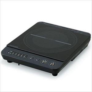 アイリスオーヤマ IHコンロ1000W ブラック IHK-T38-B 1台 - 拡大画像