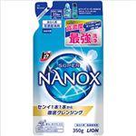 (まとめ)ライオン トップ スーパーNANOX 詰替 1パック(350g) 【×5セット】