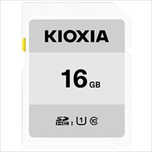(まとめ)KIOXIA SDカード 16GB KCA-SD016GS 1個【×3セット】 - 拡大画像