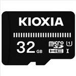 (まとめ)KIOXIA microSDカード 32GB KCA-MC032GS 1個【×2セット】